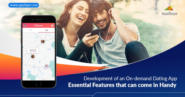 On-demand dating app